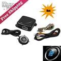 DYNO RACING -Smart Car Push Button Engine Start Stop Car Engine Push Start Button  Engine lock Ignition Starter Kit