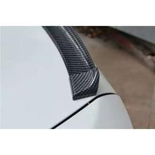 for toyota corolla fake Carbon Fiber Rear Trunk lip Spoiler Wing