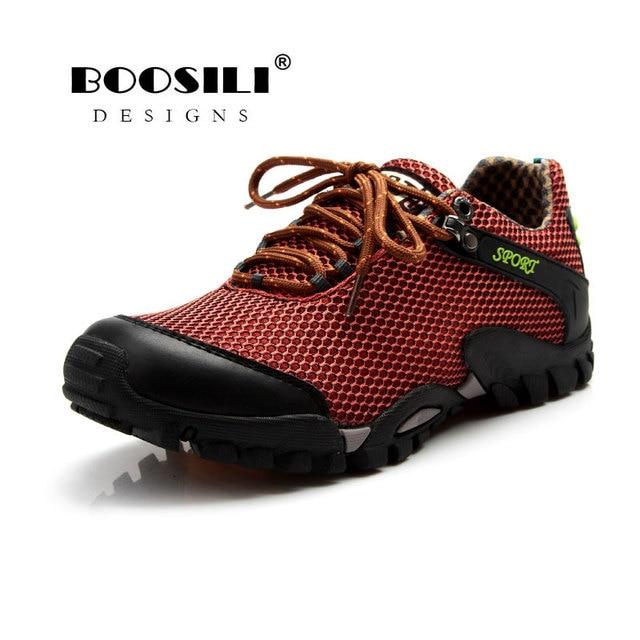064bf335ecb 2019 corriendo Zapatos Zapatillas Hombre Boosili hombres montañismo para  casuales genuino antideslizante en la marca de moda suave
