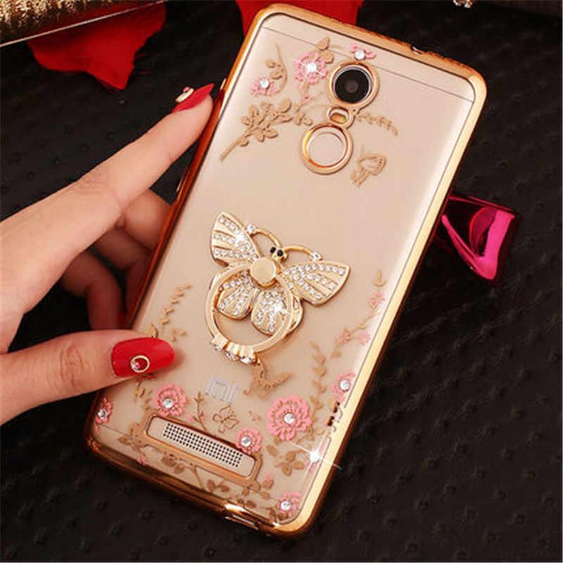 Voor Xiao mi mi 9 6 mi 8 A1 A2 lite 6X 5X Max MI x Luxe ring zachte Tpu telefoon Case voor Red mi 7 5 plus 4a 5x pro Note 5a 2 3 4 cover