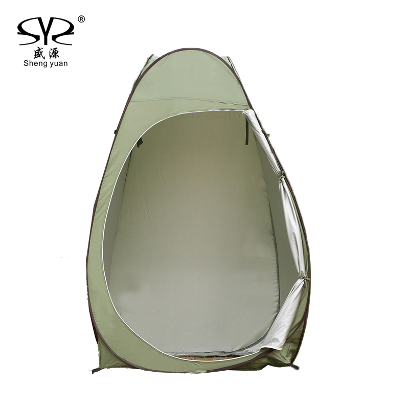 Outdoor automatic pop up Moving beach fishing swim changing room shower Carrying Bag Tent Camping Privacy Portable folding цена 2017