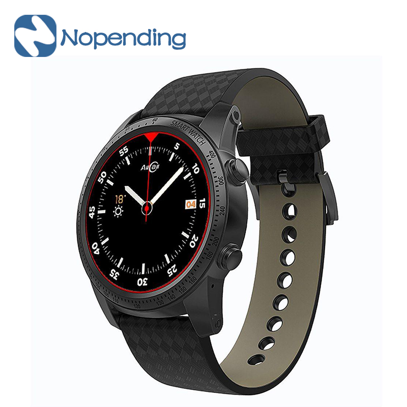 ALLCALL W1 3G Smartwatch Phone Android 5 1 MTK6580 Quad Core 1 3GHz 2GB 16GB GPS