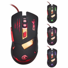 Backlight Wired Gaming Mouse 3 Buttons Professional PC Laptop Computer Mouse Gamer Mice Changeable Light 1600DPI USB Optical Mou aula sacred beetle professional programming 6d wired usb 400 800 1200 1600dpi gaming optical mouse mice