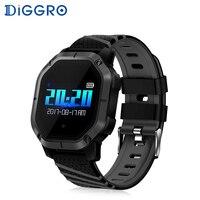 Diggro K5 Smart Watch IP68 Waterproof Swimming Heart Rate Monitor Blood Pressure Fitness Bracelet Color Display Sport Bracelet