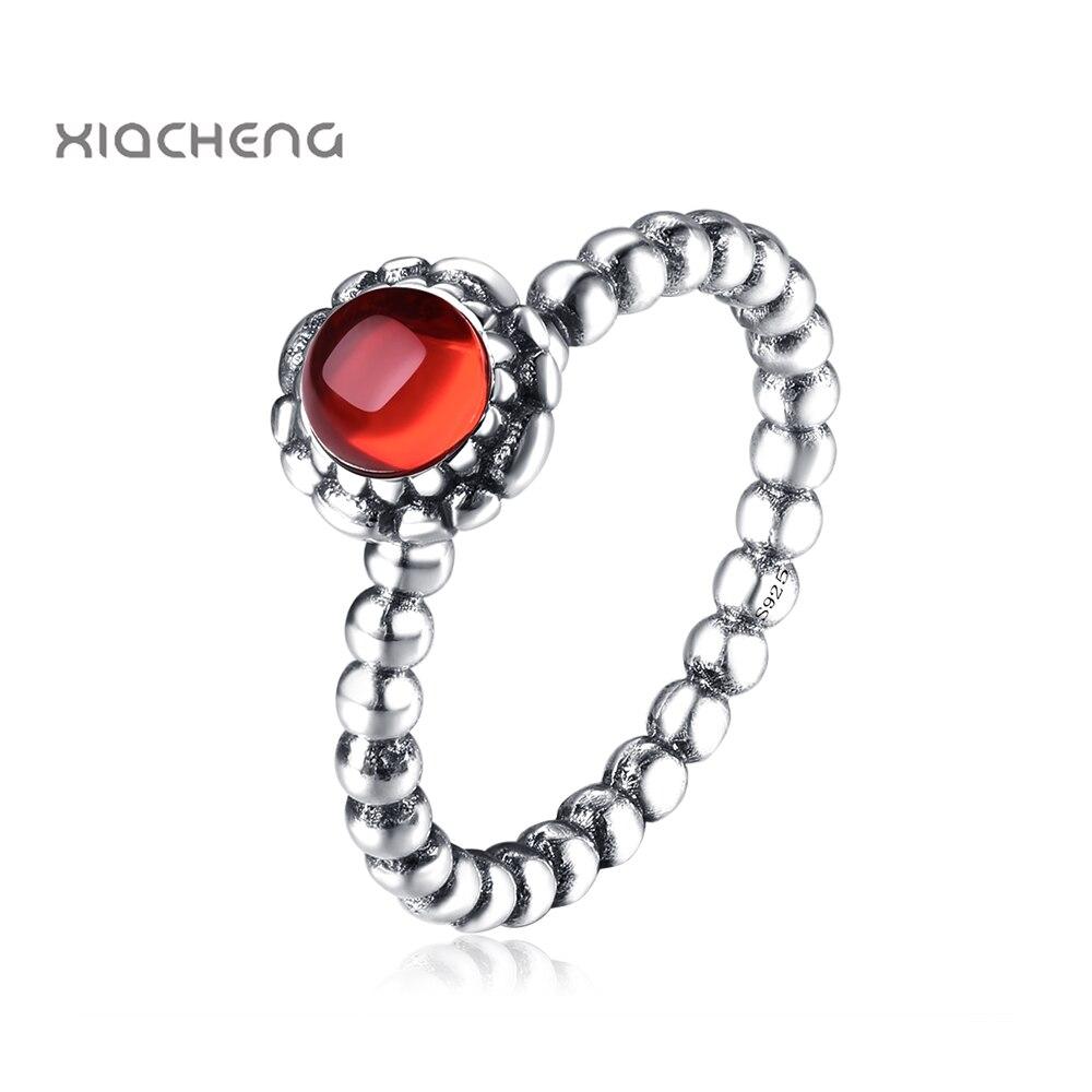 anello pandora rosso