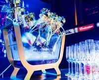 Держатель бутылки вина Chopeira ведро льда Гуандун мин светодиодный зарядки свет Красочные акриловые небольшой шампанское