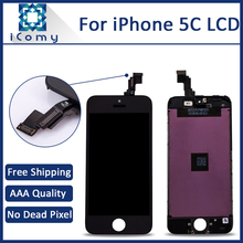AAA Quality Ecran For Apple iPhone 5C Display Screen LCD Assembly With Original Digitizer Glass No Dead Pixel