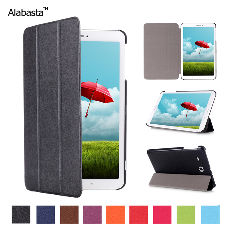 Alabasta Business Pu Leather Stand Case Cover For Samsung Tab E 9.6 T560 T561 T565 T567V SM-T560 SM-T561 Tablet + Stylus cute pet cat stand cover for samsung galaxy tab e 9 6 sm t560 sm t561 tablet case funda for samsung tab e 9 6 t560 leather cover