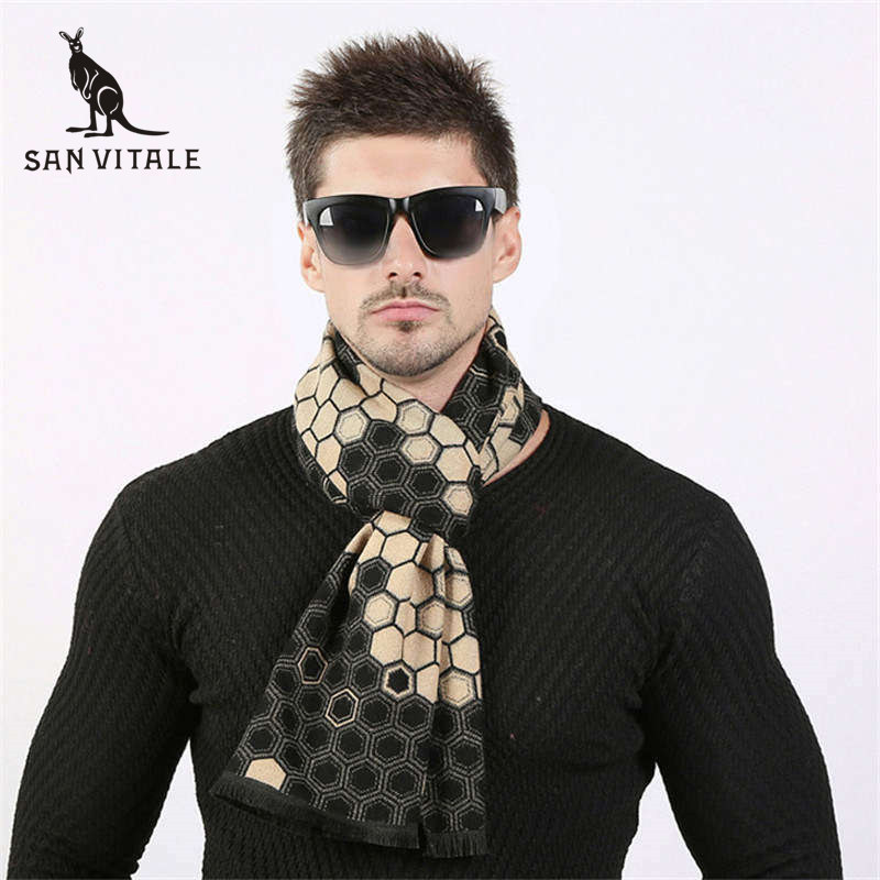 Apparel Accessories Supply Scarves Men Winter Warm Scarf Cashmere Cape Blue Plaid Dropshipping Wholesalers Suppliers Twill For Dress Scarfs High Quality Traveling