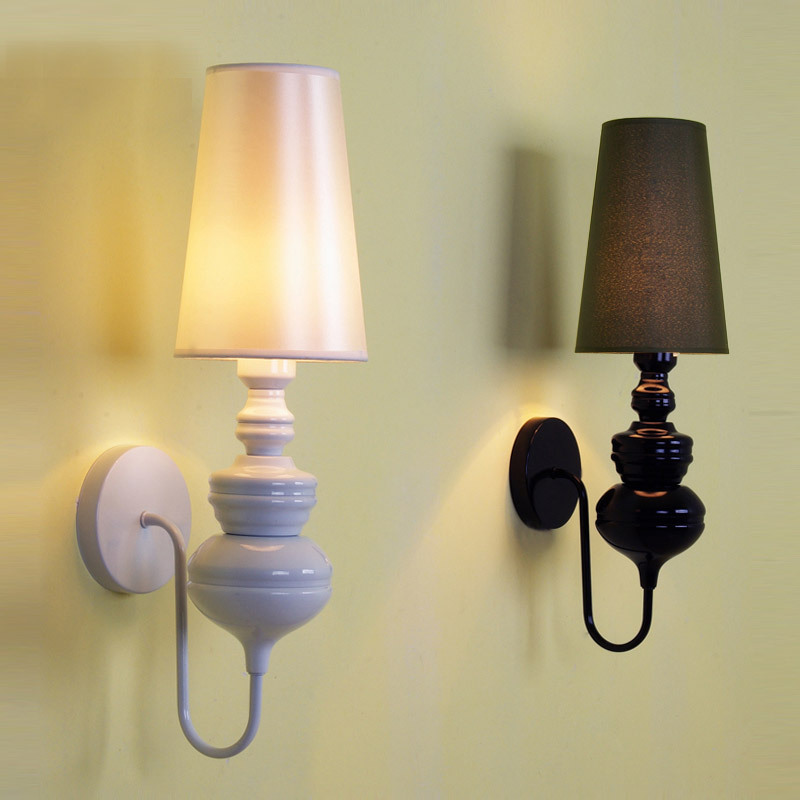 creative personality Hotel stair lamp Modern and simple European style wall lamp bedside lamp aisle lamp American living FG528