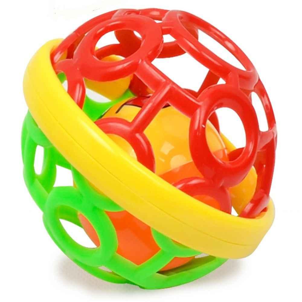 Лидер продаж, новый мягкий детский полый игрушечный прыгающий мячик для малышей, веселая разноцветная развивающая игрушка высокого качества