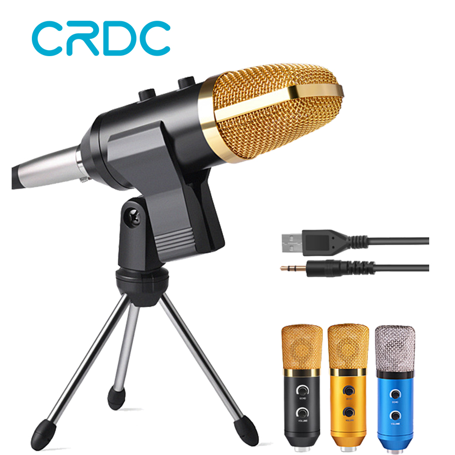 crdc 100 high quality condenser microphone wired desktop broadcasting studio microphones with. Black Bedroom Furniture Sets. Home Design Ideas