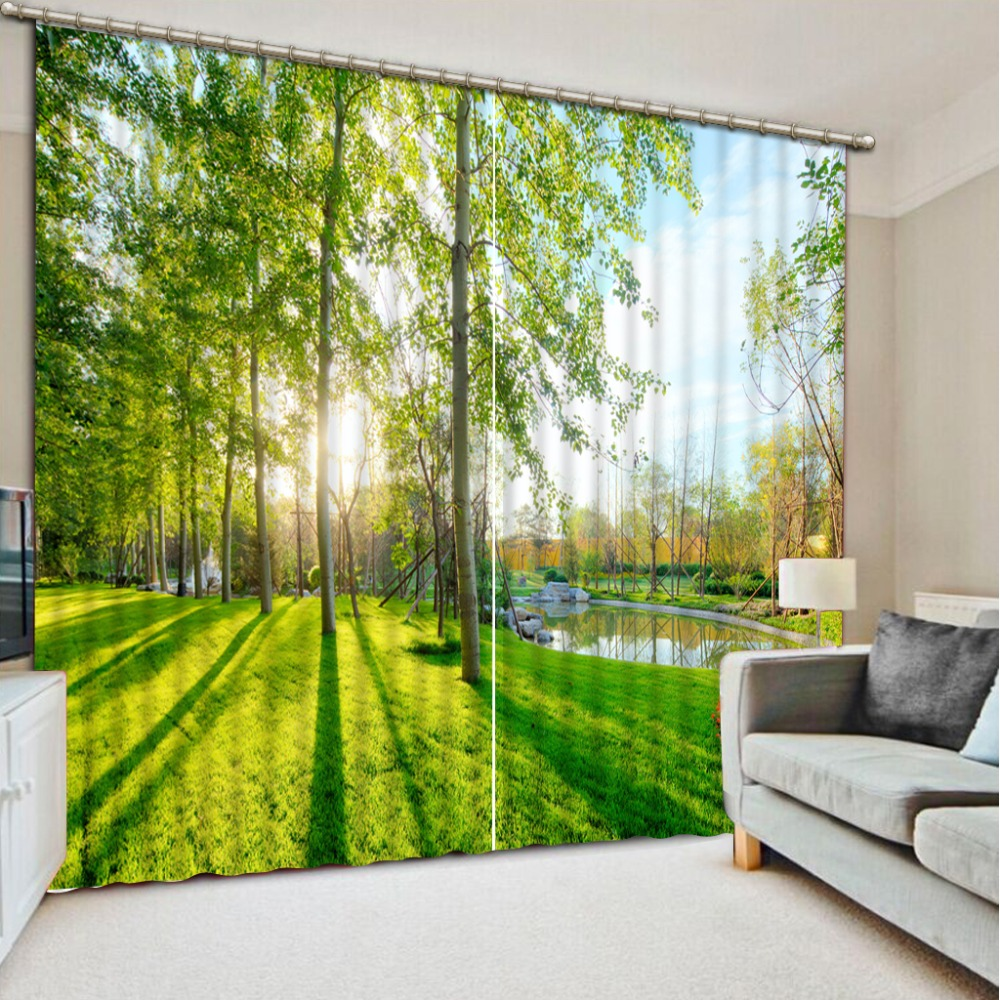 3D Printing Curtains Lifelike Blackout Cortians Beautiful Full Light Shading Bedroom Livng Room Curtains  CL-D1253D Printing Curtains Lifelike Blackout Cortians Beautiful Full Light Shading Bedroom Livng Room Curtains  CL-D125