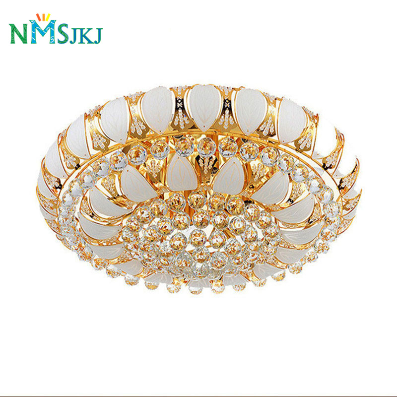 Manufactory New Arrival K9 Crystal Chandelier Pendant Lamp Luxury Crystal Ceiling Light Fixture Lusters Stock Free