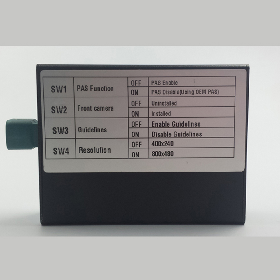 Автомобильный резервный интерфейс камеры заднего вида видео DVR режим интерграции порт адаптер смены для Mercedes E250 правила парковки - 2