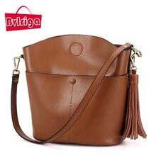 BVLRIGA Frauen messenger bags luxus handtaschen frauen taschen designer frauen leder handtaschen bolsa marken frauen umhängetasche quaste