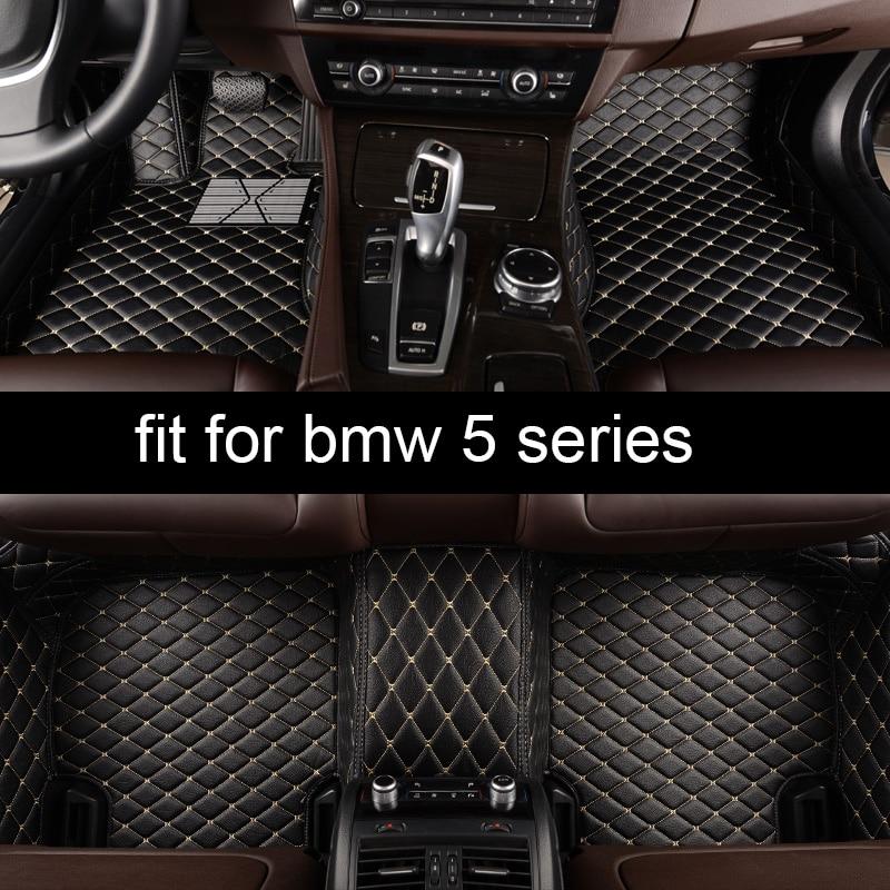 lsrtw2017 car styling fiber leather car interior floor mat for BMW 5 series e60 e61 f10 f11 f07 G30 G31 520 525 530 535 550 540lsrtw2017 car styling fiber leather car interior floor mat for BMW 5 series e60 e61 f10 f11 f07 G30 G31 520 525 530 535 550 540