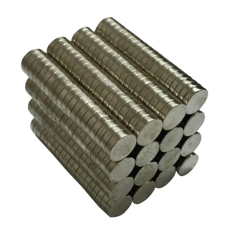 10 шт. N50 диск мини 8×2 мм Редкоземельные сильный неодимовый магнит Bulk Супер магниты