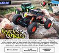 WL 18428-B 1:18 2.4 Ghz Rock Crawlers 4WD Off-Road Do Veículo RC Carro de Brinquedo