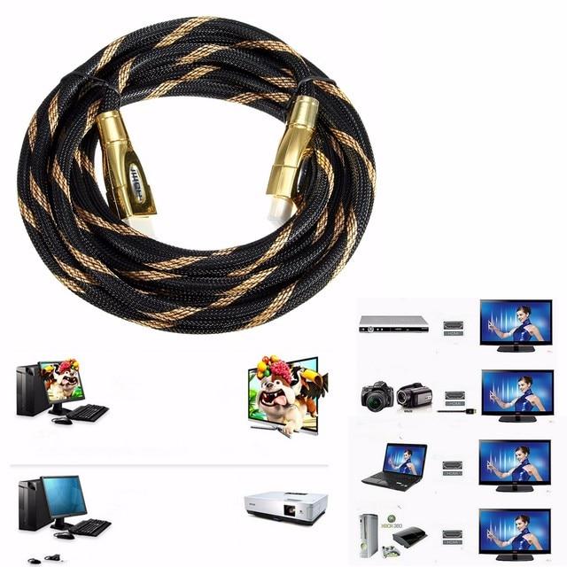 LEORY 1m/1.5m/ 2m/3m/5m/ 7m 2160P 2.0v Cable For HDTV LCD Projector HDMI 4K