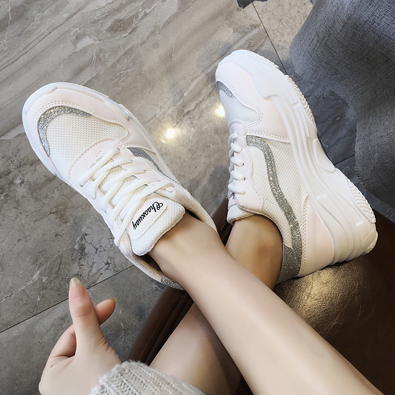 YeddaMavis Daddy Shoes Womens Shoes Woman Sneakers Spring New Women Shoes Korean Harajuku BF Running Shoes Zapatos De Mujer in Women 39 s Vulcanize Shoes from Shoes