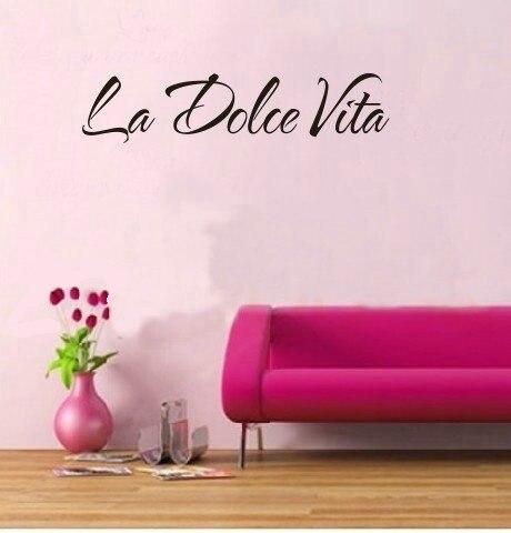 y la dolce vita italiana pegatinas de pared para de nios dormitorio sala de