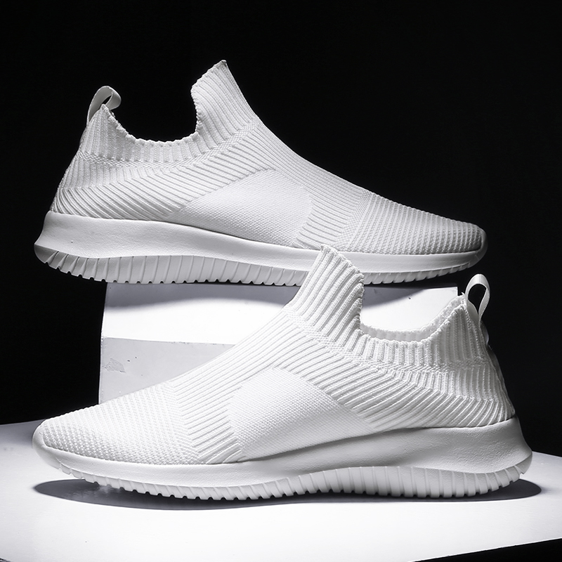 Men Summer Sneakers White Masculino Light Platform Running Shoes Men Mesh Jogging Walking Sport Trainers Men Zapatos Hombre