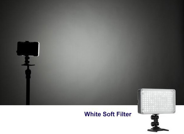 Neewer CN-126 126 אור LED וידאו על אור המצלמה Canon Sony Panasonic מצלמת DLSR או Camerasor מצלמת וידאו דיגיטלי