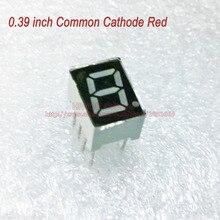 (10 шт./лот) 10 Контакты 3911AR 0.39 Дюймов 1 Бит Значный 7-сегментный 7 Красный СВЕТОДИОДНЫЙ Дисплей Поделиться Общий Катод Цифровой Дисплей