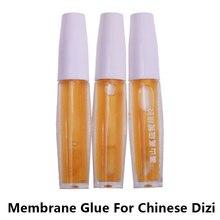 """3 штуки китайская флейта """"Дизи"""" Dimo клей жидкий мембранный клей традиционный музыкальный Dizi аксессуары Flauta membanas Cola Pegamento"""