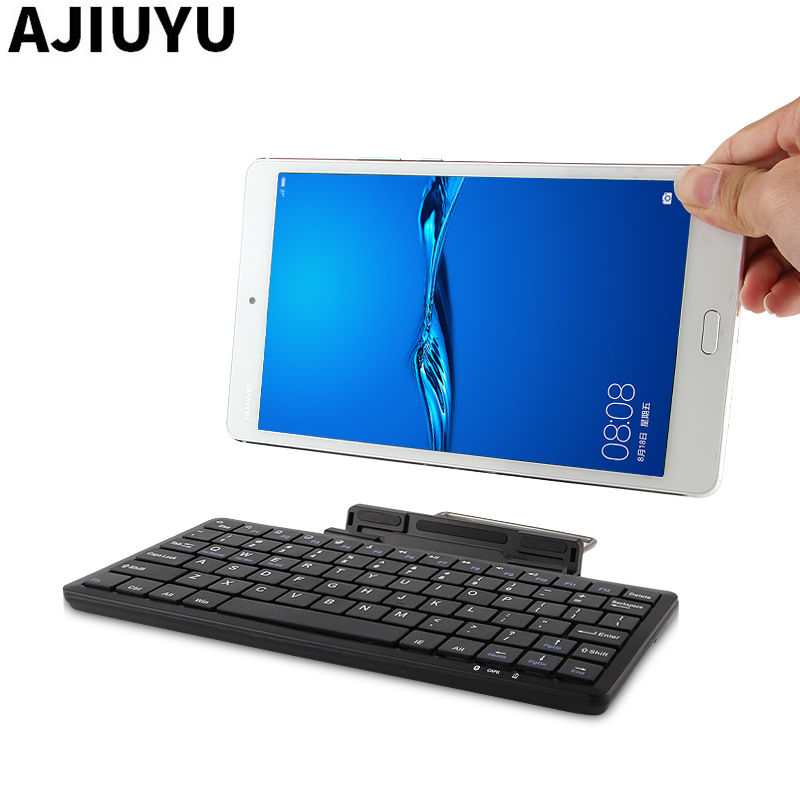 Keyboard Bluetooth For Huawei MediaPad M3 lite 10 10.0 lite 8 8.0 10.1 m3 8.4 inch Tablet Wireless mouse Bluetooth keyboard Case silicone with bracket flat case for huawei mediapad m5 8 4 inch