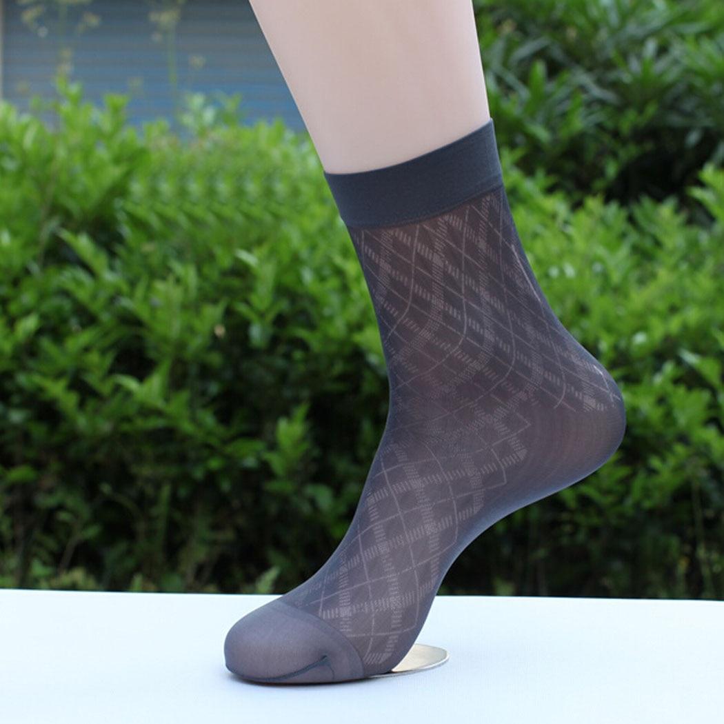 f62e0933e Hot Mens Dress Socks Breathable Nylon Sheer Solid Thin Stockings Ankle  Antibacterial 0041-in Men's Socks from Underwear & Sleepwears on  Aliexpress.com ...