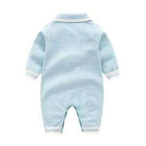 Image 5 - רגש אמהות חורף תינוק Rompers תינוק ילד בגדי סוודר תרמית יילוד תינוקת בגדים ארוך שרוול תינוק סרבל