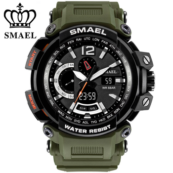 relogio masculino SMAEL Brand Sport Watches for Men 5AMT Wristwatch Digital LED Men's Military Watch Clock Man montre homme men s led digital watch men women silicone wristwatch sport men watch clock relogio masculino montre homme erkek kol saati