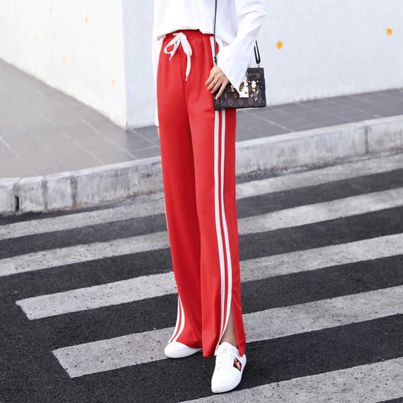 2018 women streetwear sportswear Sweatpants summer new harem-pants harajuku casual wide-leg trousers hipster Sweat Pants Femme