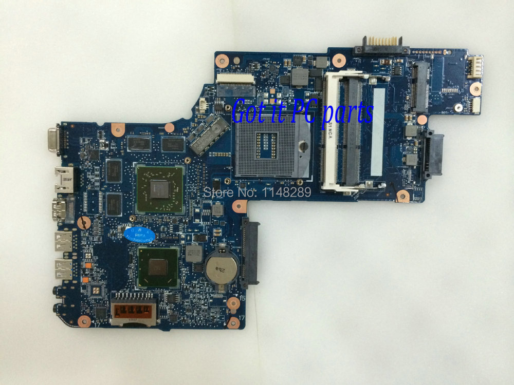 FREE SHIPPING NEW + WORKING LAPTOP MOTHERBOARD for Toshiba C850 L850 NOTEBOOK PC 7670M