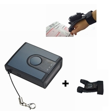 Bluetooth Laser Barcode Scanner Reader with Wirstband for Warehouse Inventory Retail Buying