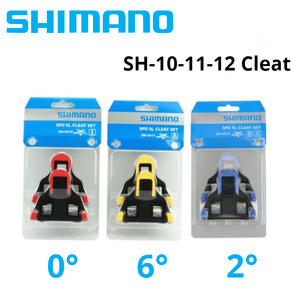 e1a4725d529 Shimano SH10 SH11 SH12 SPD SL Road Pedals Cleats bicycle Pedals plate road  bike clip