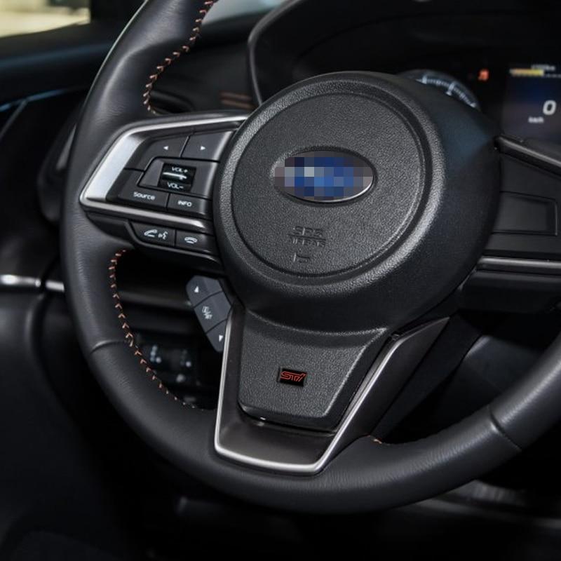 Sticker 3D STI Subaru en métal pour voiture
