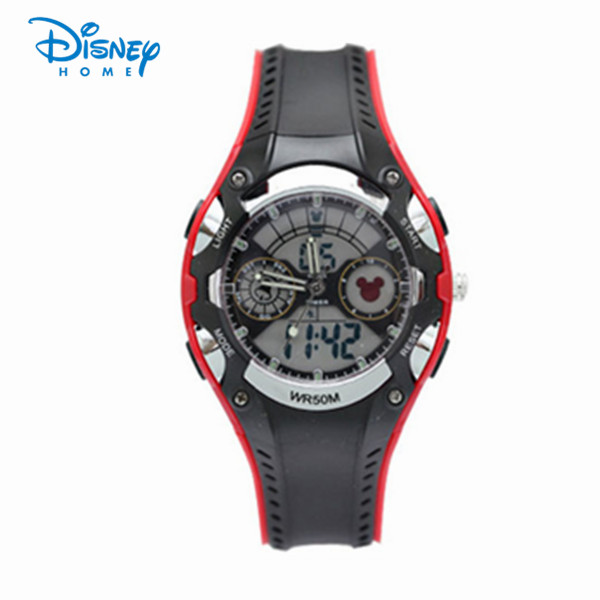 100% Genuine Disney Brand Children Sports Watches Waterproof alarm Digital military Watch Student Stopwatch SP80007-1