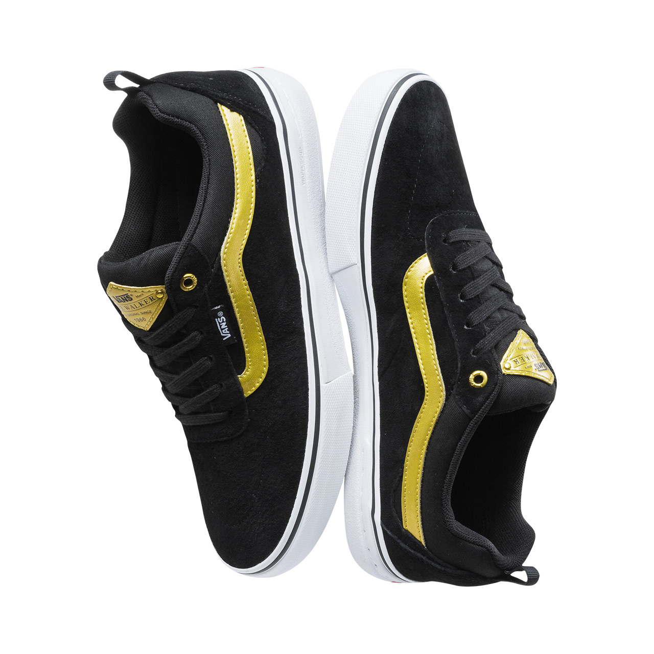 691c7c7e47 Original New Arrival Vans Mens Kyle Walker Pro Low top Skateboarding Shoes  Pro Skate Sneakers Canvas Sport Outdoor VN0A2XSGB2G-in Skateboarding from  Sports ...