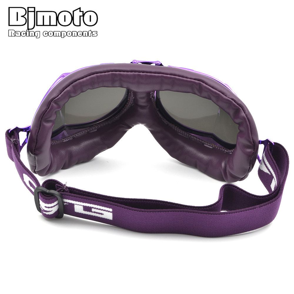 55d6d49540 BJMOTO Vintage Motorcycle Goggles Smoking Steampunk Coating Sport Sunglasses  for Harley Glasses Scooter Goggle -in Motorcycle Glasses from Automobiles  ...