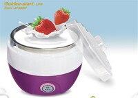 Hot Selling Electric Yogurt Machine Stainless Steel Liner Mini Automatic Yogurt Maker 1L Capacity 220V