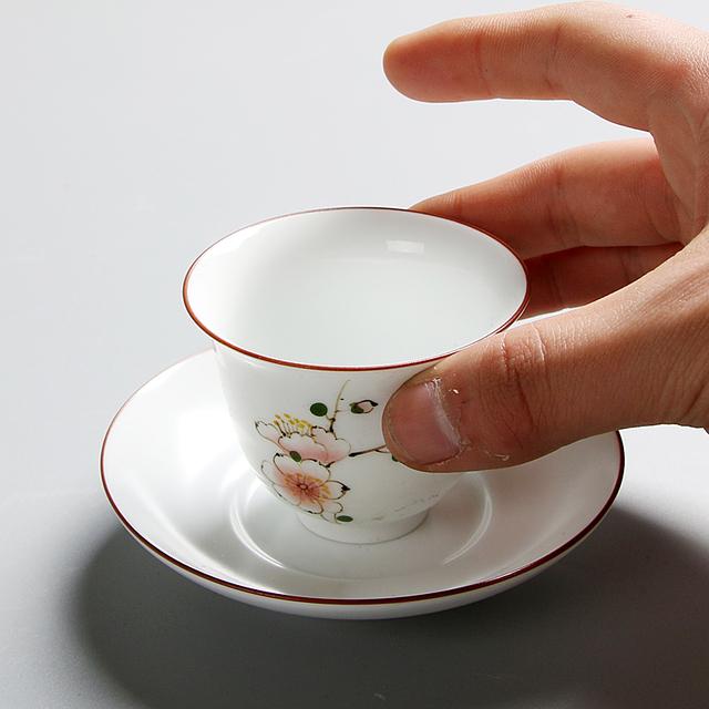 Ceramic Tea Cups Set