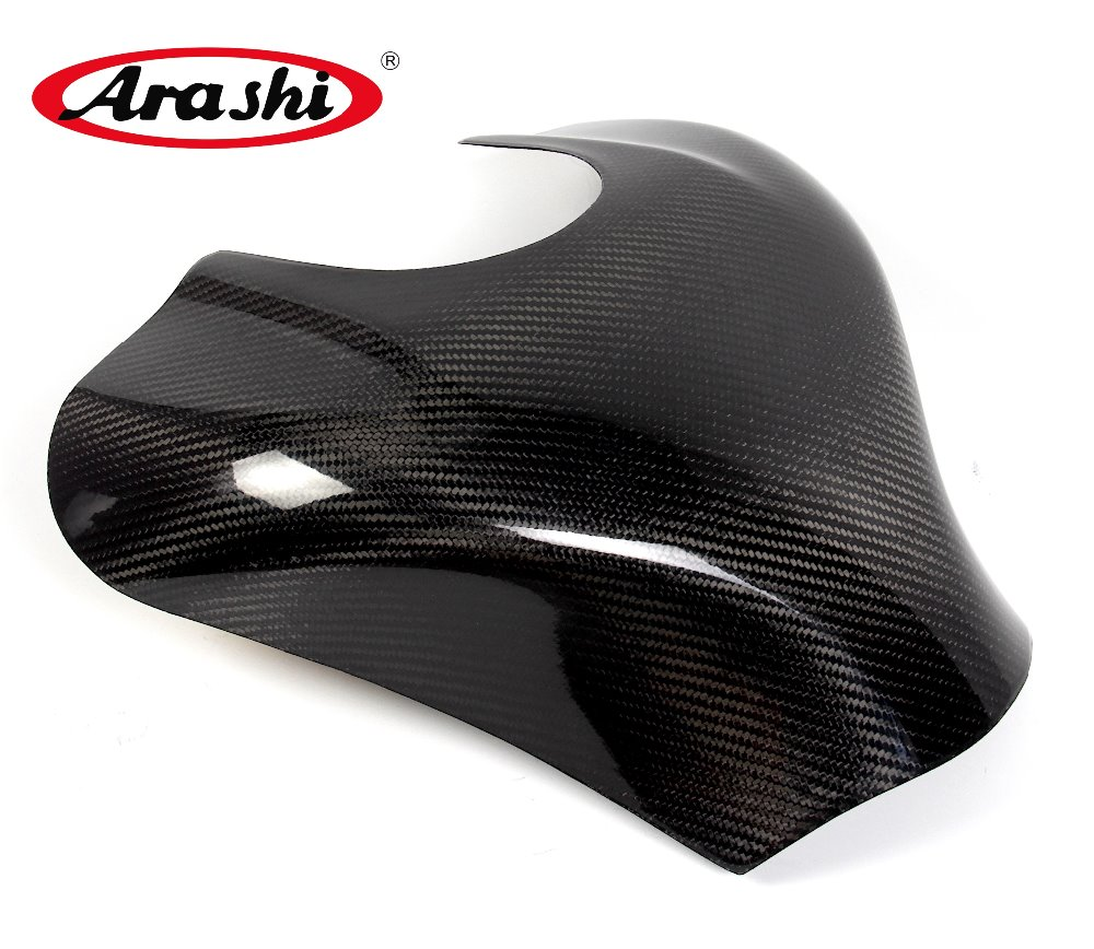 Arashi ZX10R NINJA Carbon Fiber Gas Tank Cover For KAWASAKI NINJA ZX10R 2011 2012 2013 2014 2015 Motorcycle Protector Pad Fuel arashi ninja250 motorcycle parts carbon fiber tank cover gas fuel protector case for kawasaki ninja250 2008 2009 2010 2011 2012