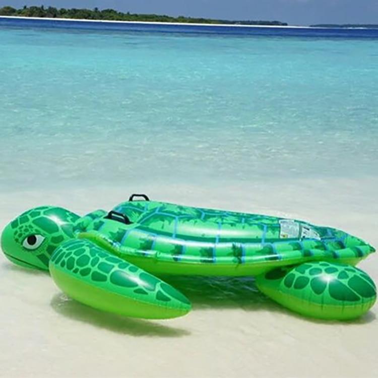1.9m pvc green sea turtl inflatable water float rider Summer Lake Swimming Water Lounge Pool float Kid Giant Swim sea turtle kid s rider 1698