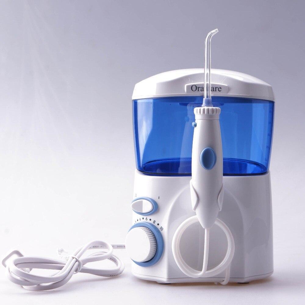 Бесплатная доставка Qralcare домашний пакет зубная Вода Flosser оральная зубная нить для полива воды струя зубная нить