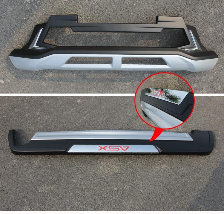 ABS передняя+задний бамперы Автомобильные аксессуары Автомобильные бампера Защитная картера, пригодный для 2016 Мицубиси ASX