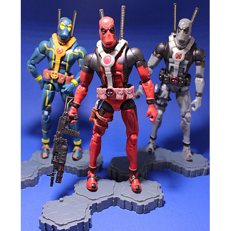 16cm The Avengers Super Hero Justice league X-MAN Deadpool Action Figure Toys Collection Model occupy avengers volume 1 taking back justice