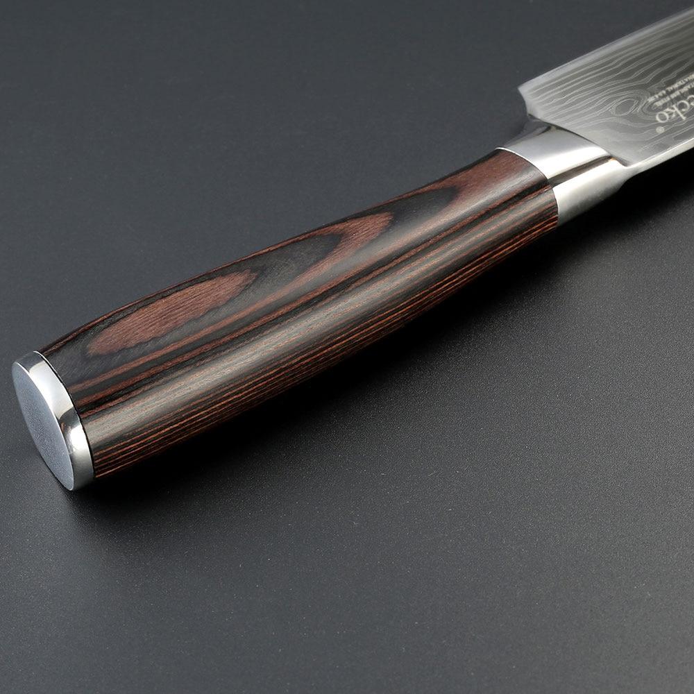 Professional 8 düym aşbazın bıçağı yüksək keyfiyyətli - Mətbəx, yemək otağı və barı - Fotoqrafiya 4